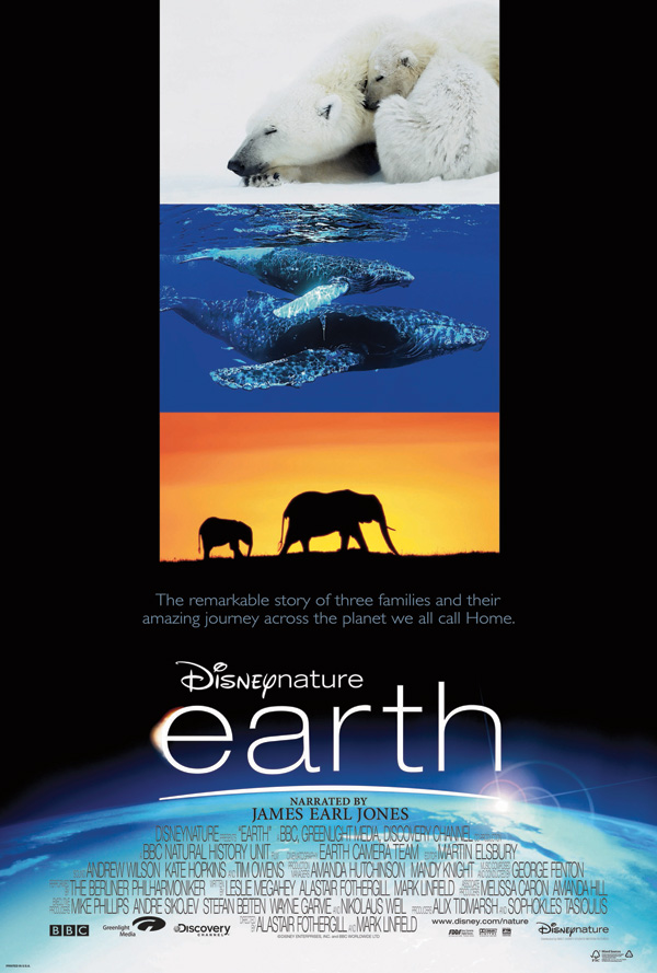 Earth movie poster Disneynature